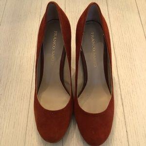 Franco Sarto Balada Suede heels